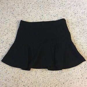 ZARA trafaluc flare skirt